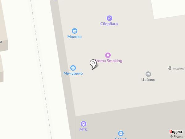Хлебница на карте Тамбова