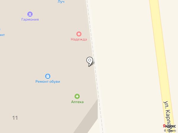 Архградо Строй на карте Тамбова