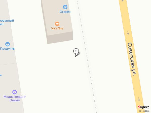 Огонек на карте Тамбова