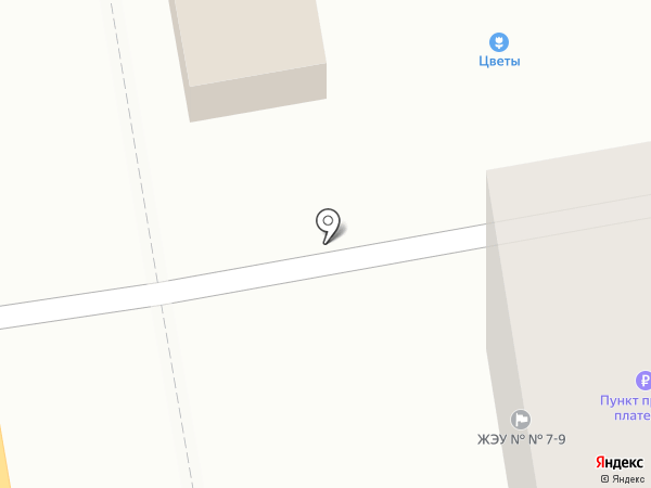 Букет на карте Тамбова