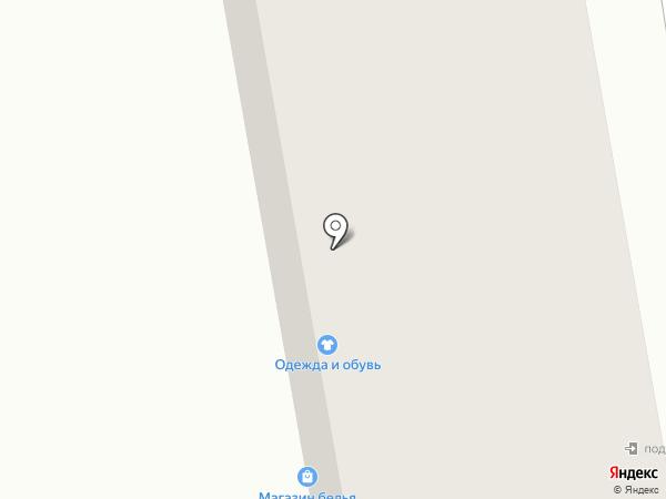 Магазин текстиля на карте Тамбова
