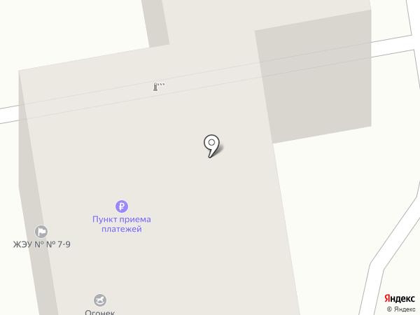 Белый Клык на карте Тамбова