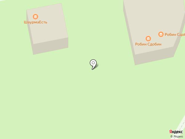 Сытый панда на карте Тамбова