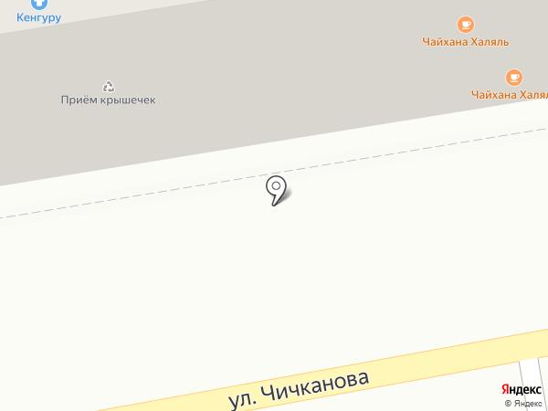 Ступенька на карте Тамбова