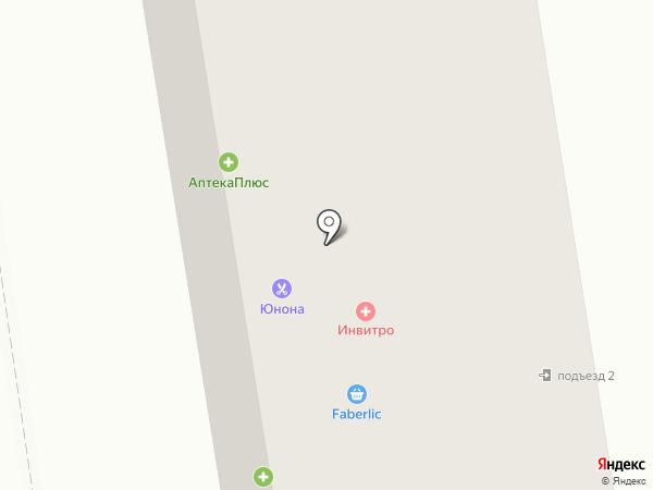 Юнона на карте Тамбова