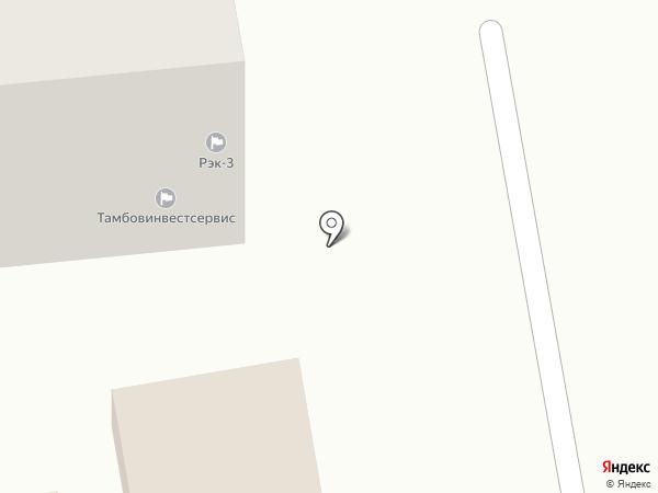 Жилищная компания Тамбовинвестсервис на карте Тамбова