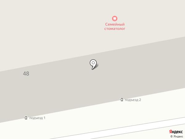 Вырастайка на карте Тамбова