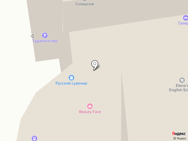 Галерея на карте Тамбова