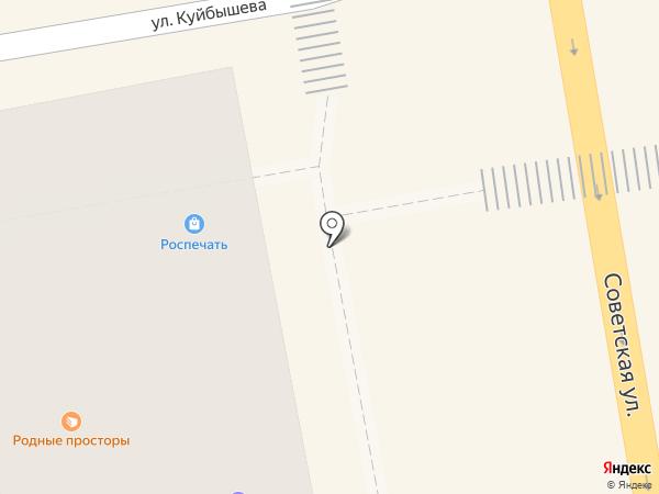 Роспечать, ЗАО на карте Тамбова