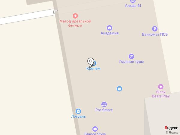 Горячие туры на карте Тамбова