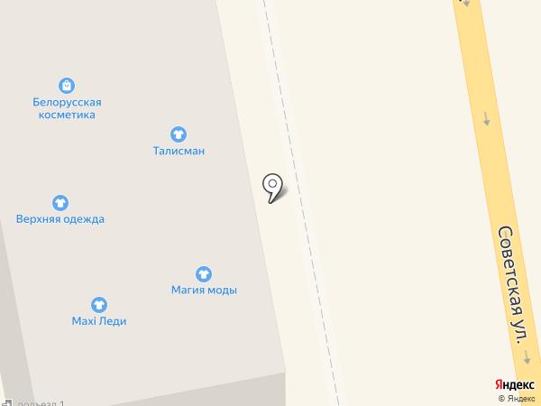 Кладовая здоровья на карте Тамбова