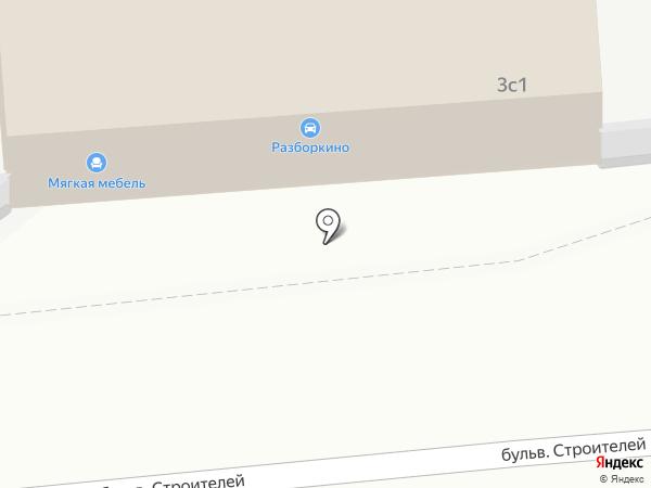 Стрела на карте Тамбова