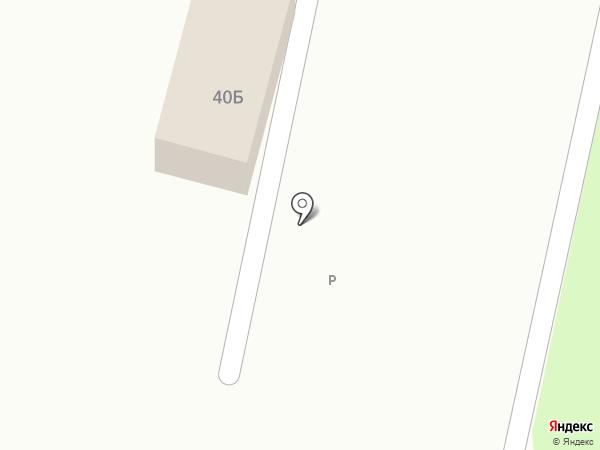 Магазин продуктов на ул. Северный микрорайон на карте Строителя