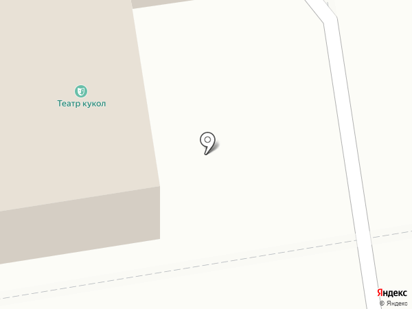 Тамбовский государственный театр кукол на карте Тамбова