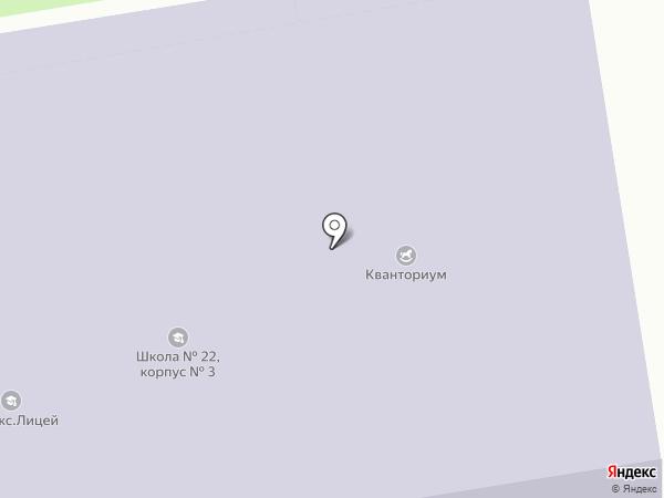 Региональный центр образовательных технологий, АНО на карте Тамбова