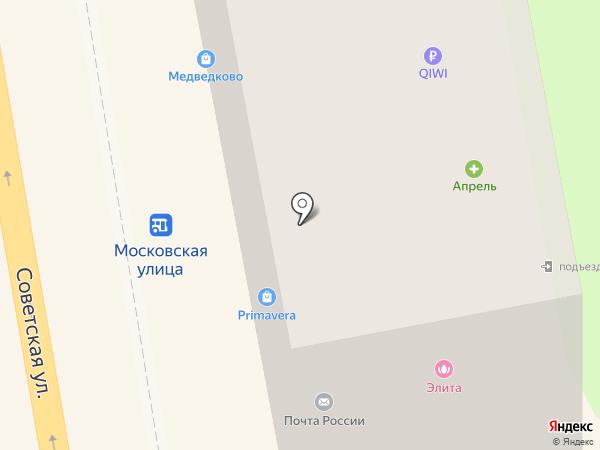 Банкомат, Почта Банк, ПАО на карте Тамбова