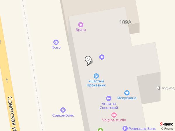 Тамбовский визовый центр на карте Тамбова