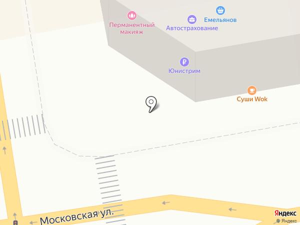 Платежный терминал, Совкомбанк, ПАО на карте Тамбова