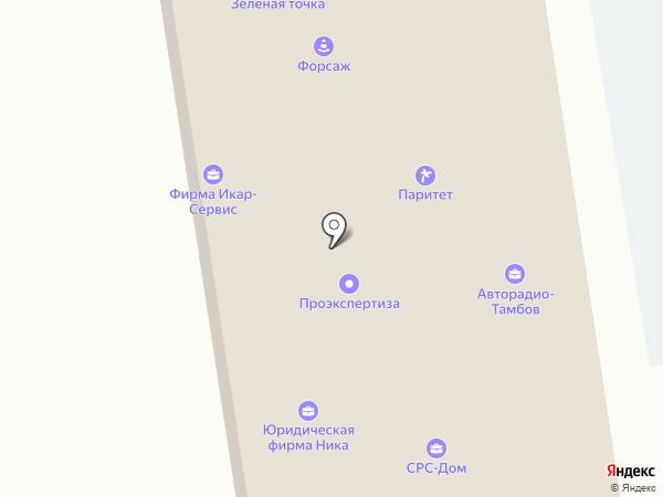 Квазар на карте Тамбова