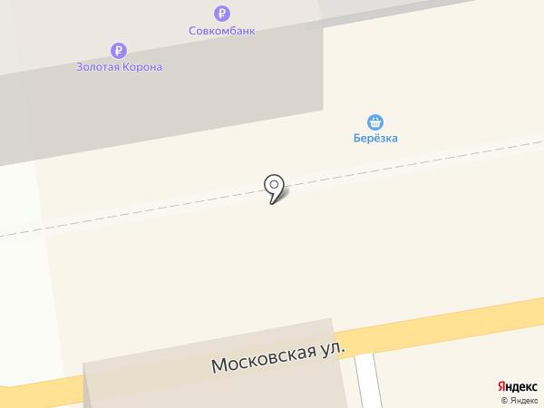 Райский дом на карте Тамбова