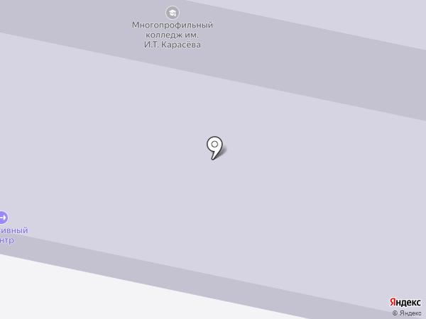 Лайн-Телеком на карте Строителя