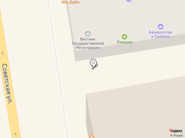 Абу Даби на карте Тамбова