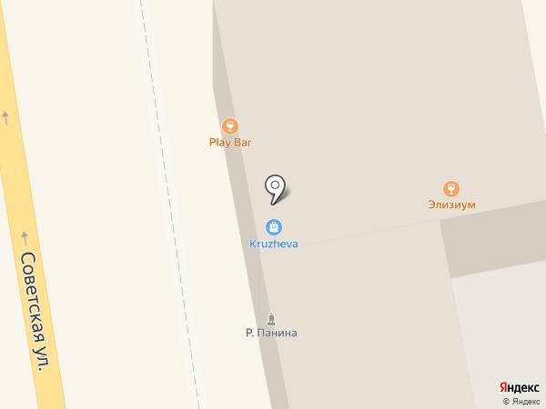 Самоваръ на карте Тамбова