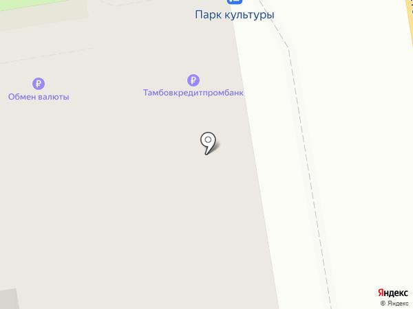 Тамбовкредитпромбанк на карте Тамбова