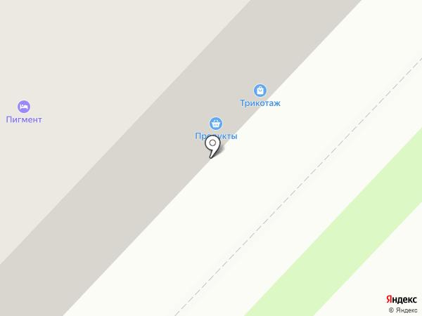 Продукты на карте Тамбова