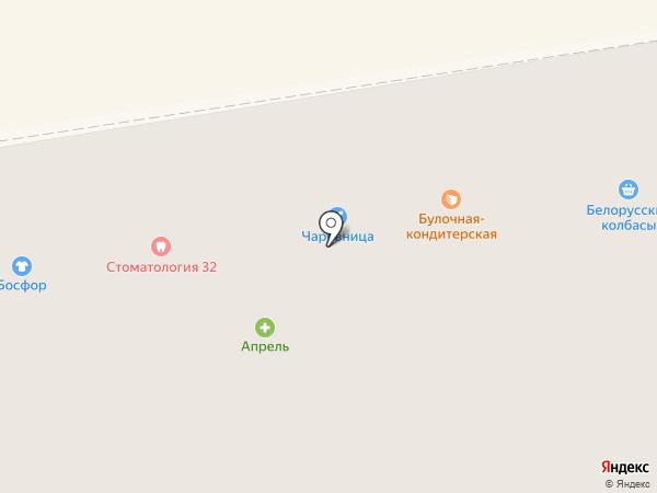 Чаровница на карте Тамбова