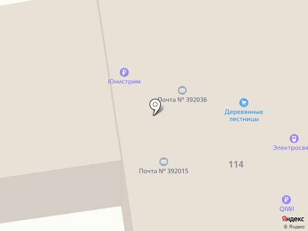 Музей истории Тамбовской почты на карте Тамбова