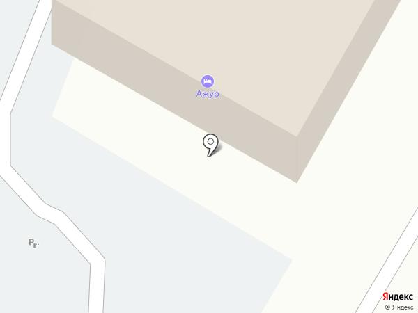 Ажур на карте Тамбова