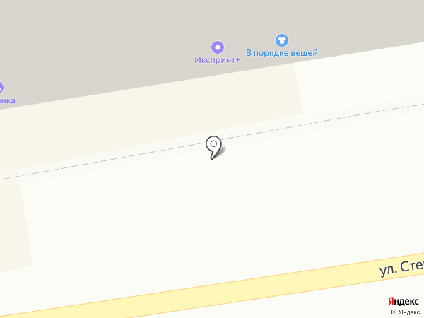 Амбар на карте Тамбова