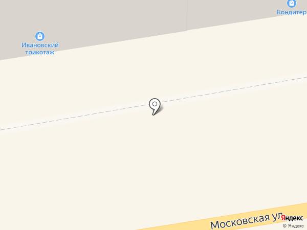 Ивановский трикотаж на карте Тамбова
