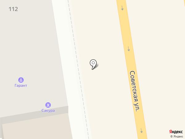 Клуб Мастеров на карте Тамбова