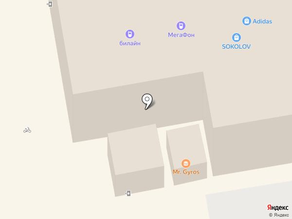 Евросеть на карте Тамбова