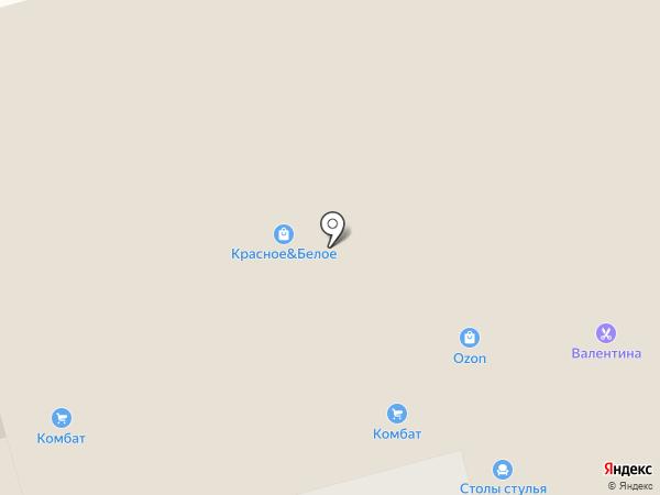 Комбат на карте Тамбова