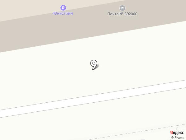 Тамбовский почтамт на карте Тамбова