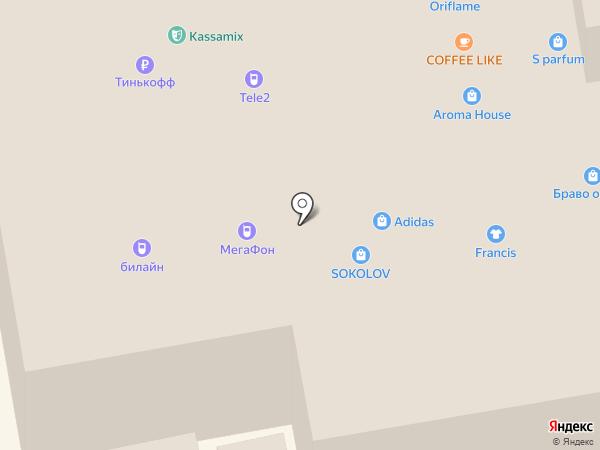 Yota на карте Тамбова