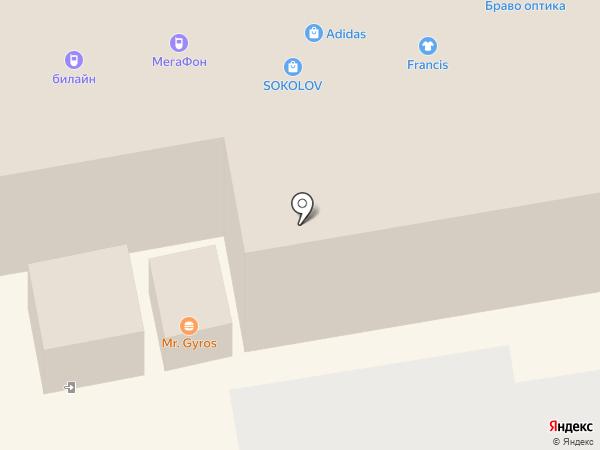 Adidas Group на карте Тамбова