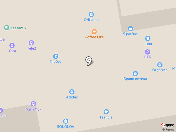 Kassy.ru на карте Тамбова