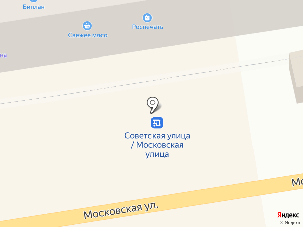 Максимум плюс на карте Тамбова