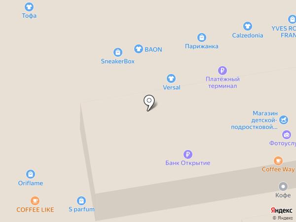 Reebok на карте Тамбова