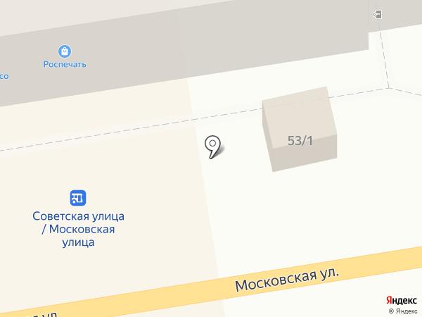 Мясо на Московской на карте Тамбова