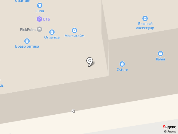 Subway на карте Тамбова