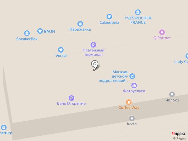 Парижанка на карте Тамбова