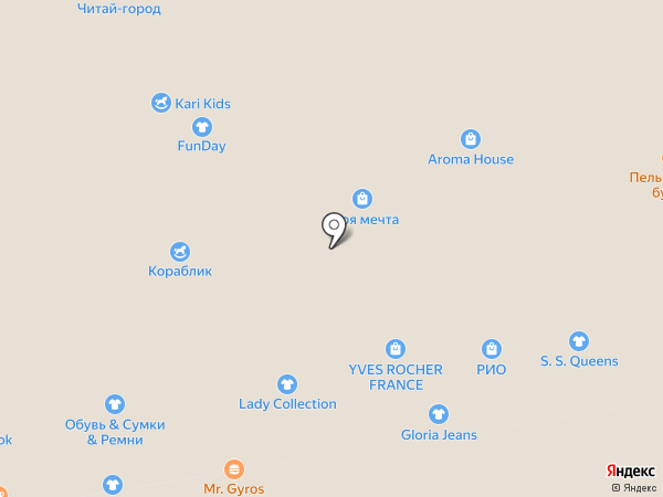 Atlantic на карте Тамбова