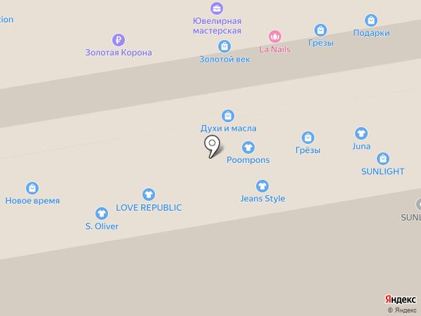 Эскиз на карте Тамбова