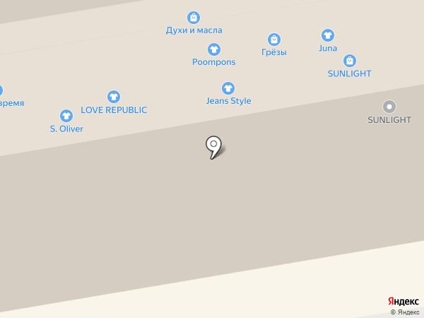 Шик на карте Тамбова