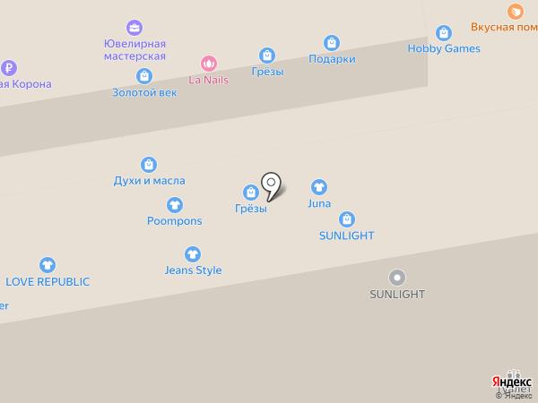 Песочная мозаика на карте Тамбова